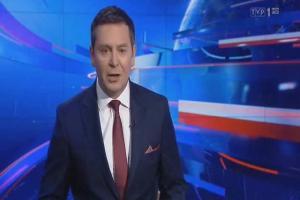"""Łączenie z reporterem w nowym studiu """"Wiadomości"""""""