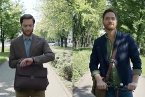 Bliźniacy reklamują grę Ekstra Pensja