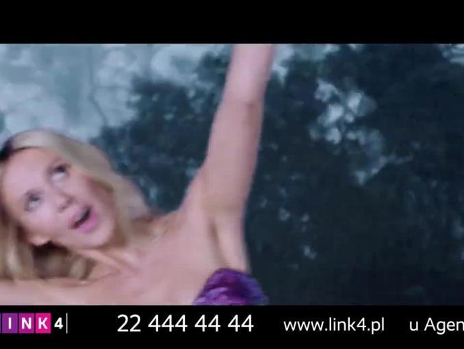 Kasia Moś reklamuje polisę Smart Casco w Link4