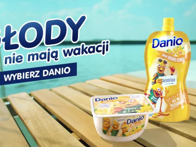 Mały Głód piratem w wakacyjnym spocie Danio