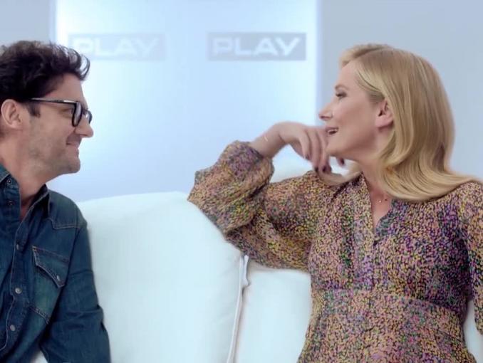 Kuba Wojewódzki i Magdalena Cielecka reklamują Homebox TV w Play