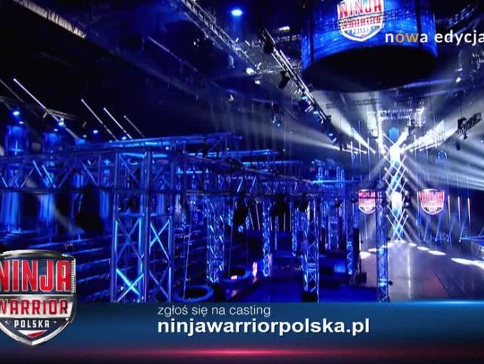 """""""Ninja Warrior Polska 2"""" jesienią w Polsacie, startują castingi (wideo)"""