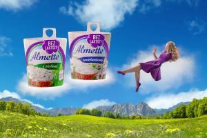 Almette bez laktozy - reklama
