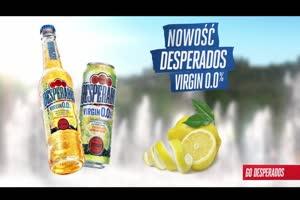 """""""Każdego ruszy"""" - Desperados Virgin 0.0%"""