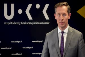Tomasz Chróstny - prezes UOKIK - komentuje karę dla producenta sprzętu biurowego Fellowes Polska