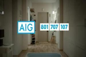 reklama ubezpieczeń w AIG