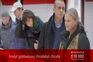 Chciałabyś, chciała z Piotrem Adamczykiem w nowych reklamach eurobanku