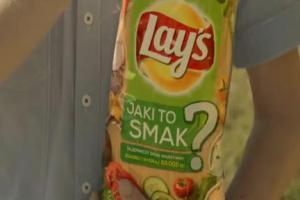 Jaki to smak? - reklama nowych chipsów Lay's