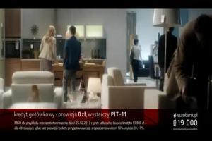 disco-polo Adamczyka o meblach w reklamie eurobanku