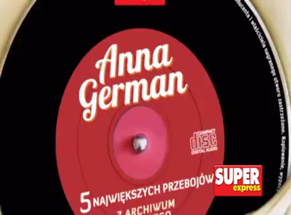"Płyta Anny German z ""Super Expressem"""