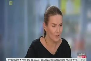"Hanna Lis i ""Kropka nad i"" w TVP Info"
