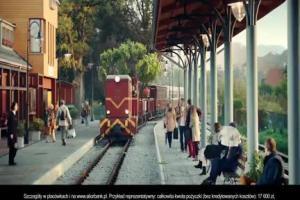 Pogoń za pociągiem z marzeniami reklamuje pożyczkę gotówkową w Alior Banku