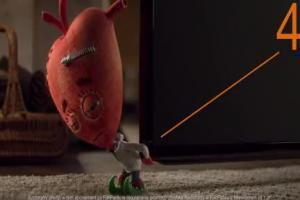 Serce i Rozum spierają się z Renią i Pieszczochem o Samsung Smart TV w reklamach FunPacka