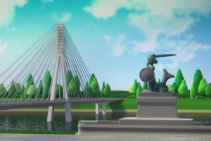 Trzy kolory - spot animowany z udziałem Piotra Kraśki