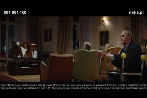 To co ten o tamtym - dialog staruszków w reklamie GigaNagrywarki w Netii