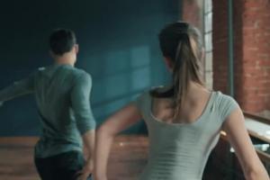 Tancerka Anna Bosak reklamuje antyperspirant Bioliq