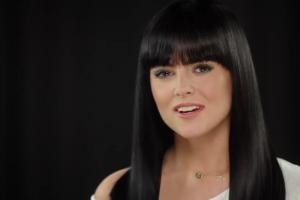 Prezenterka Radia ZET Chilli Gabi Drzewiecka reklamuje Garnier Olia