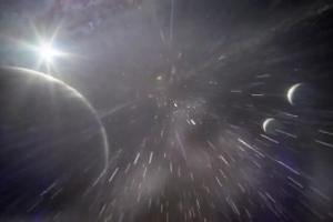 Podróż Serca i Rozumu w oka mgnieniu reklamuje internet Supernova w Orange