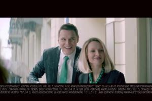 Michał i Michelle promują nowy kredyt gotówkowy w BGŻ BNP Paribas