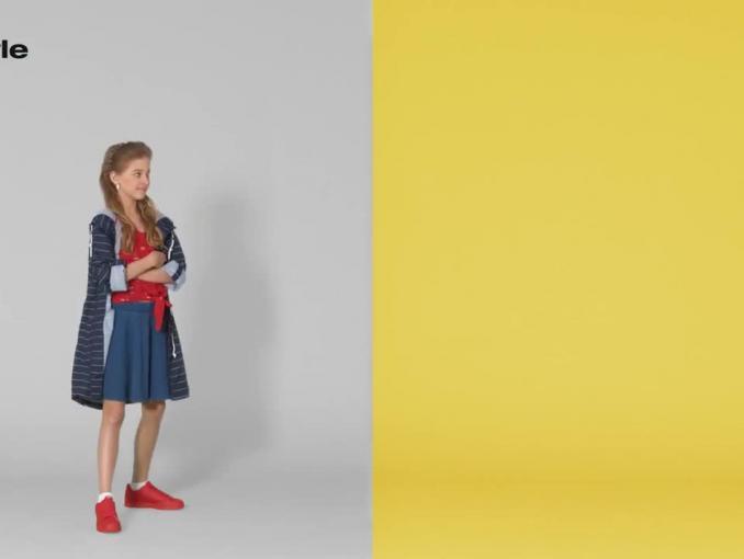 Pomysły na stylizacje odzieżowe promują 50 style