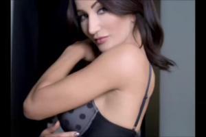 Justyna Steczkowska reklamuje rajstopy i pończochy Gatta Slim Line