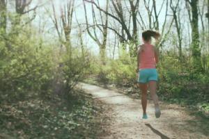 Anna Lewandowska biegająco reklamuje Gillette Venus