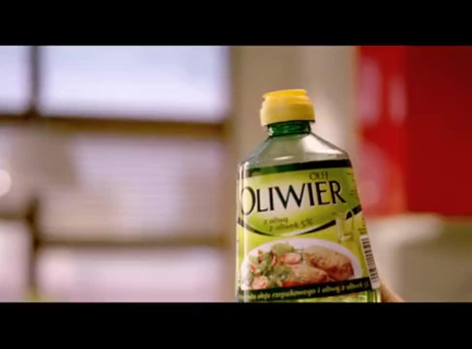 reklama oleju Oliwier