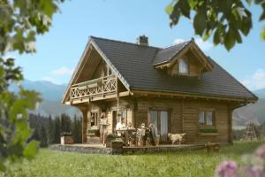 """""""Wygraj dom z natury"""" - Dom w górach od Almette"""