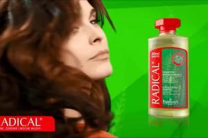 """""""Bo trzeba mieć TU!"""" - reklama kosmetyków Radical"""