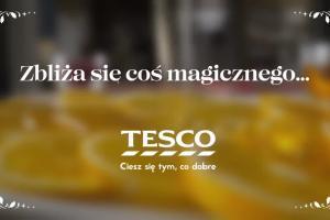 Kulinarna magiczna chwila w reklamie Tesco