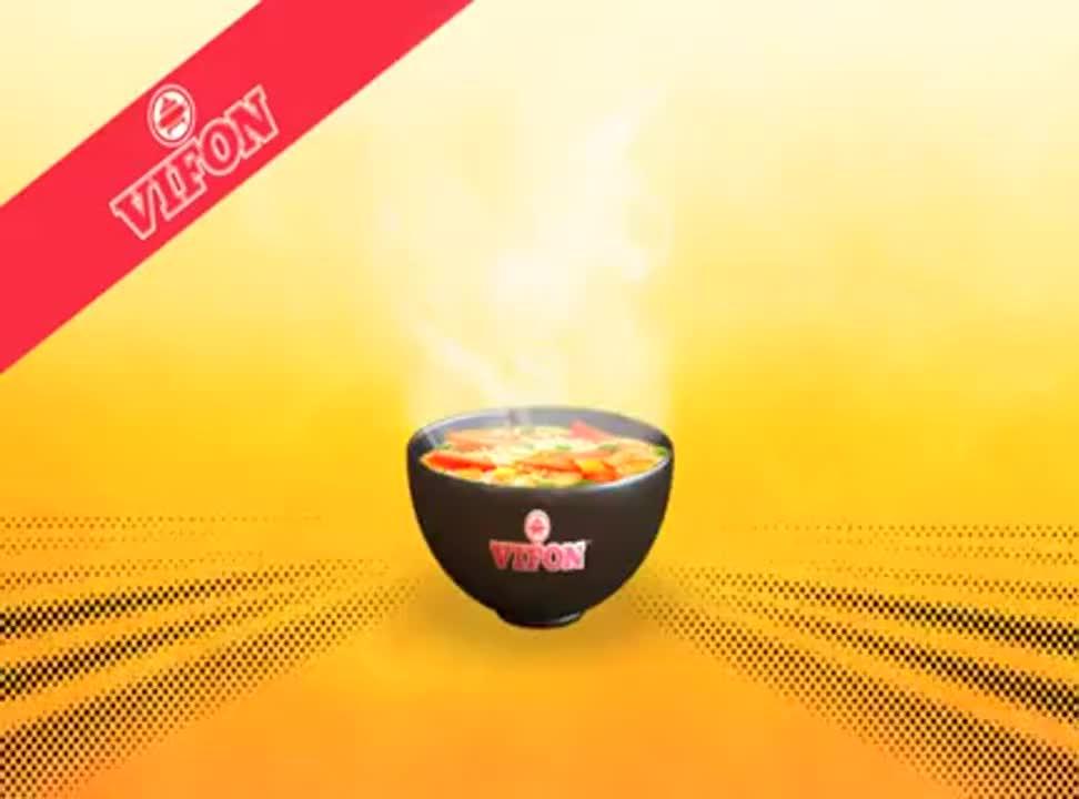 reklama promocji zup Vifon